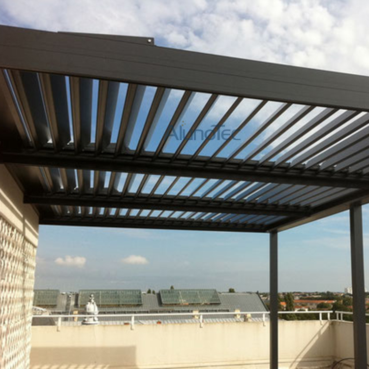Electric Aluminium Pergola Louvered Patio Cover Systems