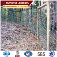 Cheap galvanized deer farm fencing wire net for sale(Diamond wire mesh)