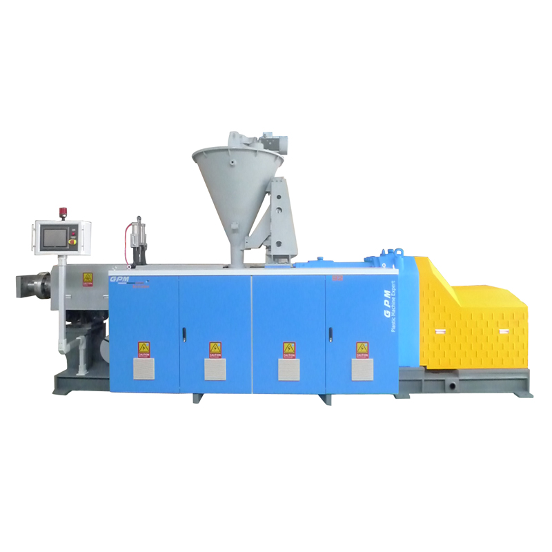 92 conical twin screw extruding machine