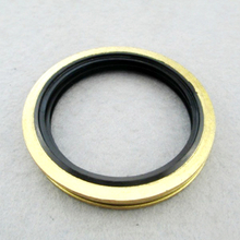 Rubber Metal Compound Washer Self Centering Gasket