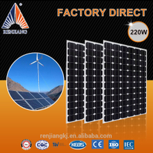 220W cells panel,sharp thermodynamic solar panel