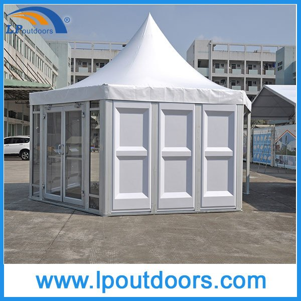 6X6m Outdoor Hexagon Shape Pagoda Marquee Wedding Tent for Event