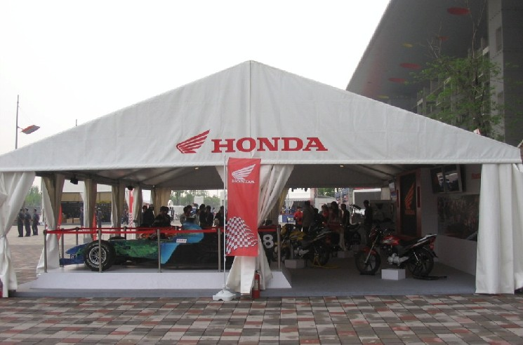 HONDA EXHIBITION TENT