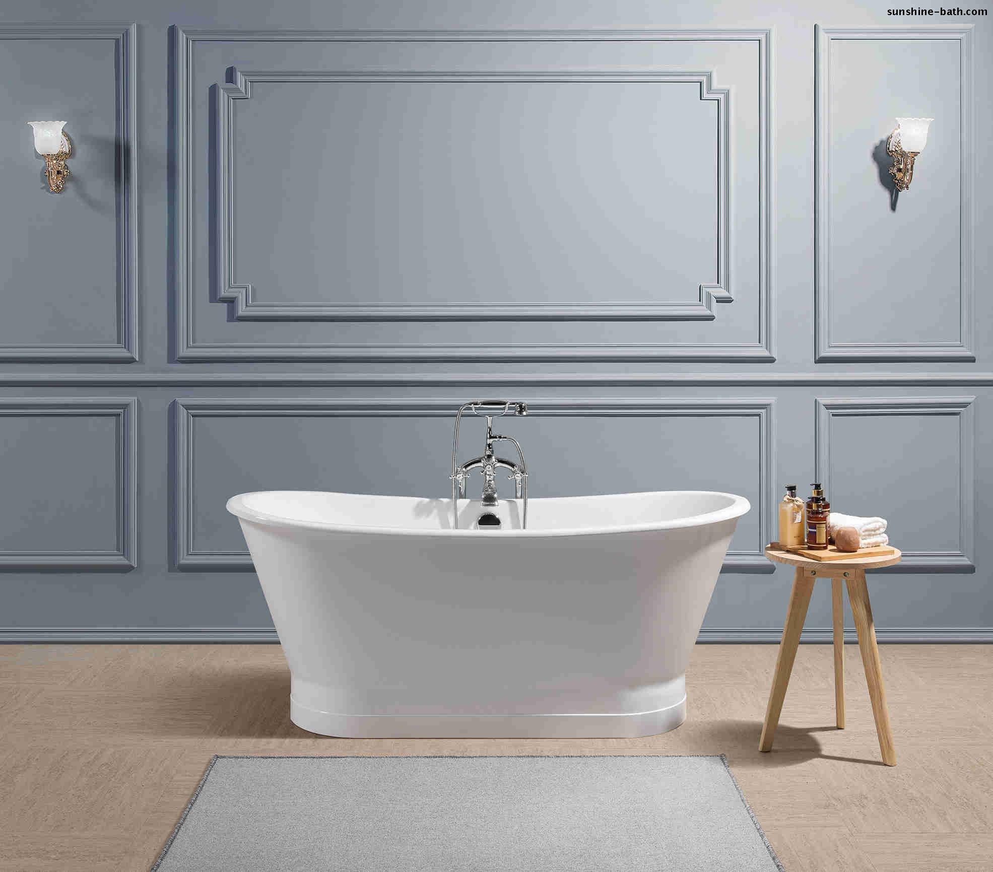 SW-1002B - Buy cast iron bathtub, porcelain enamel bathtub ...