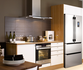 "<div style=""text-align: center;""><span style=""font-size:20px;"">Kitchen Products</span><br>  </div> <div style=""text-align: center;""><span style=""font-size:16px;"">Learn More ></span></div>"