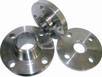 concentric serration titanium flange