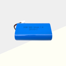 7.4V 2600mAh 2S1P Rechargeable Li-ion Battery Pack NO.1018