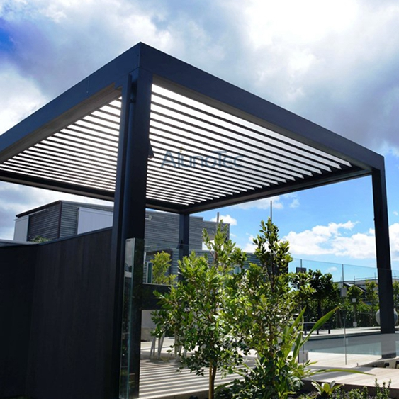 Customized Aluminum Pergola Design Ideas Diy Opening Roof