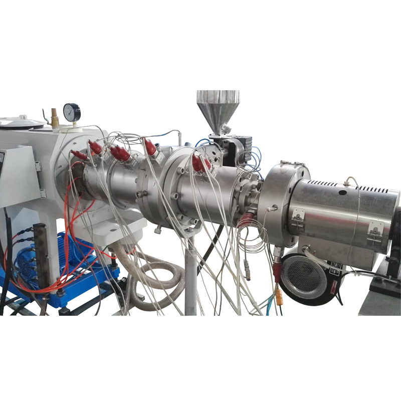 PP pipe processing system
