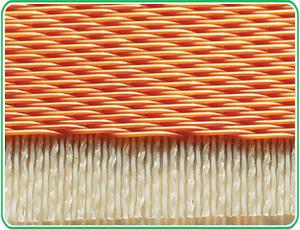 Vacuum network belt