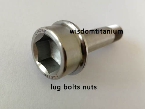hot forged titanium lug bolt