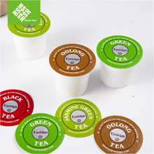 custom printed disposable compatible k cup capsule with filter