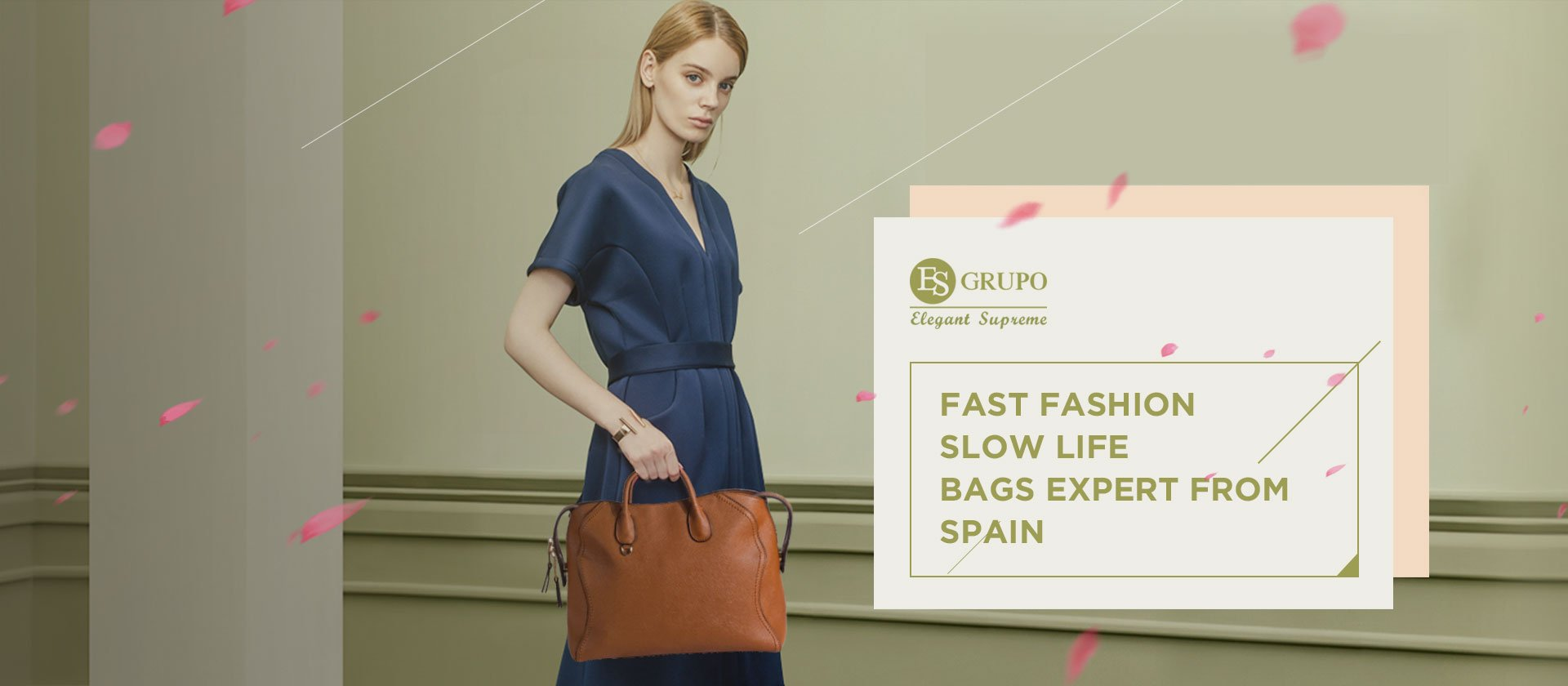 FAST FASHION SLOW LIFE BAGS EXPERT FROM SPAIN