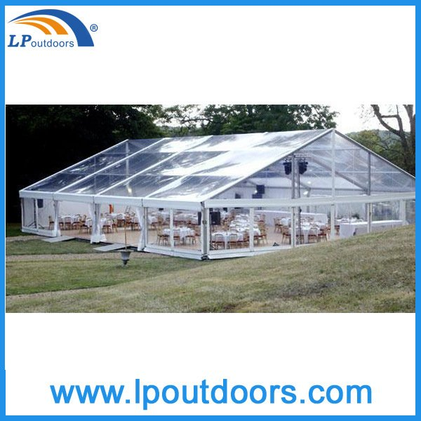 Clear Span Outdoor Wedding Tent Transparent Marquee Tent for Event Party