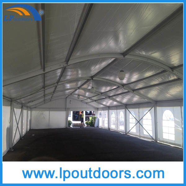 10m Clear Span Aluminum Party Marquee Curved Event Tent