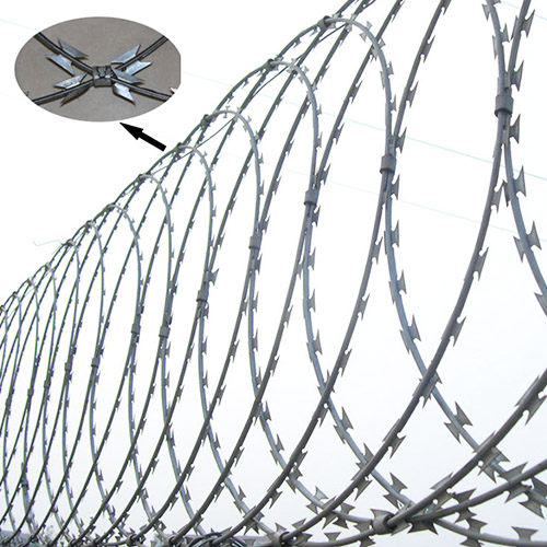 Top 3 Razor Wire Security Fencing includes Razor Wire Flat Wrap ...