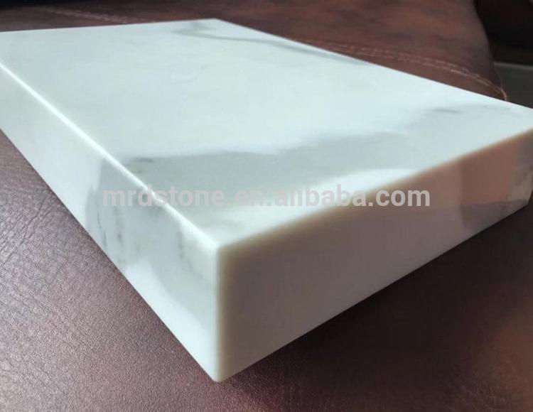 Best Price Prefab White Calacatta Quartz Countertop Price