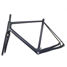 2018 Disc brake cyclocross carbon frame cx carbon frame through axle carbon bike frame