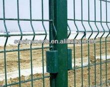 Anping Factory triangular bending wire maesh fence
