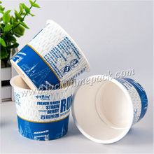 Print Logo on Custom Disposable 5oz Plastic Dessert Cup