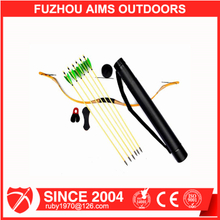 AIMS wholesale 5-25lbs traditional Bow and Arrow sets for Children for sale Archery kits II 5022
