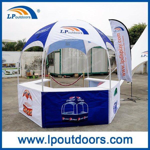 3X3m Outdoor Hexagonal Dome Booth Tent for Display Show