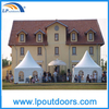5X5m White PVC High Peak Wedding Marquee for Outdoor Activity