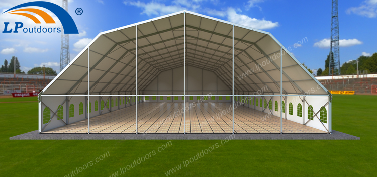 Polygon party tent