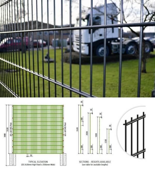 Double Wire Fence8