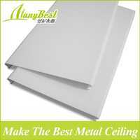 2018 Hotsale Fantastic Metal Suspended Strip Ceiling Design with SGS Certificate