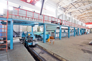 The precision coating line