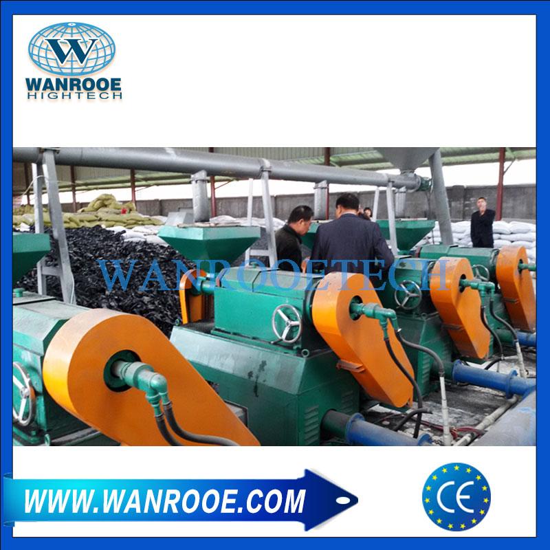 Rubber pulverizer mill machine
