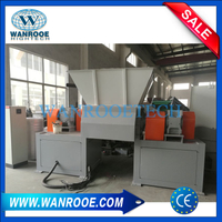 Double Single Shaft Shredder Machine