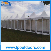 5X5m Outdoor High Peak Tension Tent For Events