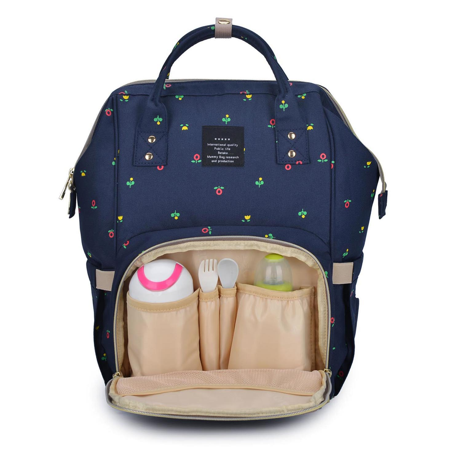 Nappy Diaper Backpack Bag