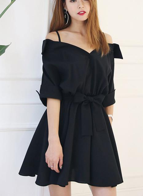 Womens Spaghetti Strap Double Layered Mini Chiffon Dress Plus Size