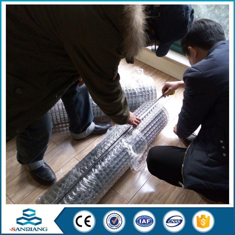 8 gauge galvanized welded wire mesh panel 25mm square mesh - Buy ...