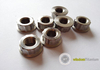 M8 Titanium 12 Point Flange Nut