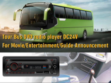 Single DIN Bus & Coach 12/24V DVD Media Player