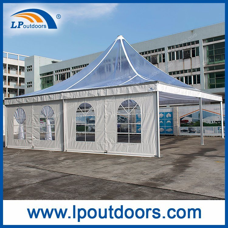 Big Size Outdoor Clear Top Pagoda Tent With for Meeting
