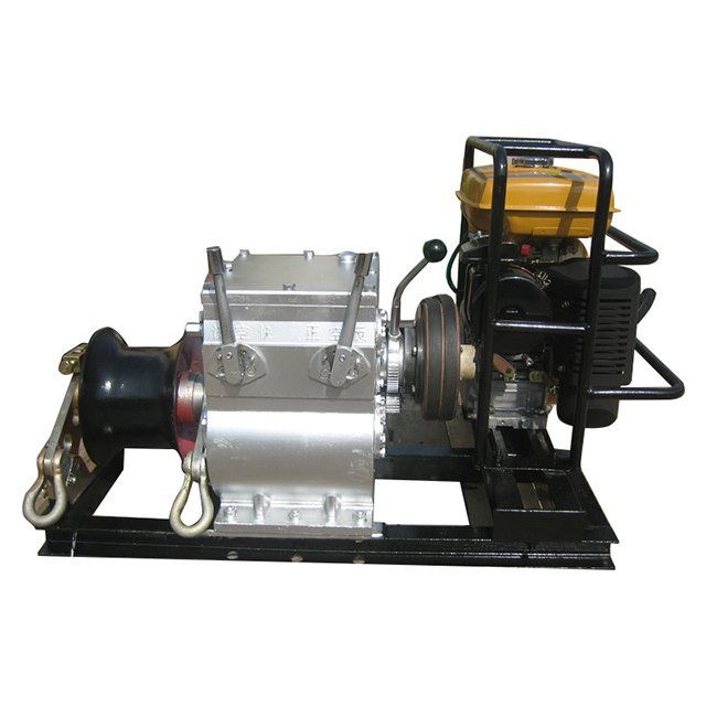 3 Tons Cable Winch With HONDA/YAMAHA Engine Cranes