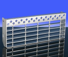 Steel Material Bar Grating Stair Tread H