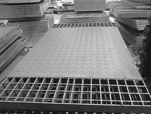 Compound Steel Grating with Plain Bearing Bar