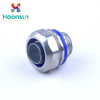 factory supply yueqing metal waterproof for nylon pipe Flexible Conduit Connector
