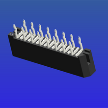 1.0mm间距C型双面接直针无锁式FPC