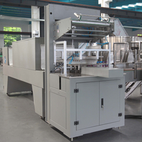 High Speed Automatic Bottle Shrink Wrapping Machine