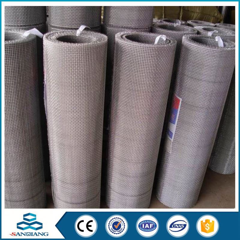 Cheap Price 304 stainless steel crimped wire mesh screen