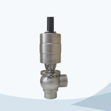Sanitary pneumatic food grade cut-off valve