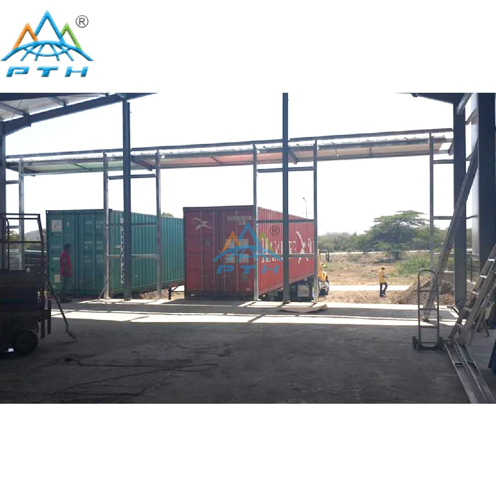 Low Cost Quick Build Prefabricated Steel Structure Warehouse In Netherlands