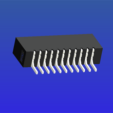 1.0mm间距A型双面接卧贴无锁式FPC